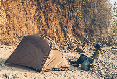 BAC마크2P돔 - 솔로캠퍼를 위한 경량 텐트